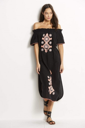Off Shoulder Embroidered Dress Seafolly