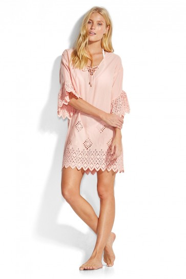 Dawn To Dusk Broderie Cover Up Seafolly