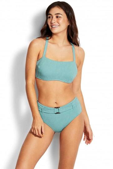 Palm Coast DD Bandeau Retro Bikini Set by Seafolly
