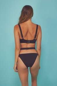 Bandage Swimsuit Monokini Black