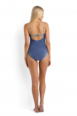 Deja Blue One Piece Maillot