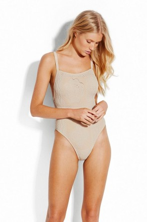 Daydreamer One Piece Swimsuit Seafolly Shell