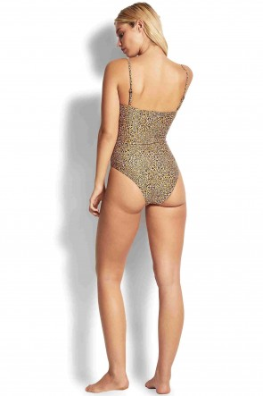 Spirit Animal Tube One Piece by Seafolly