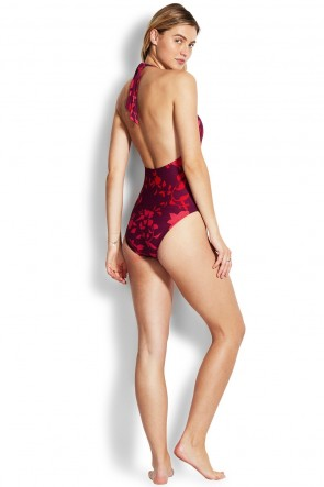 Florence Plunge One Piece by Seafolly