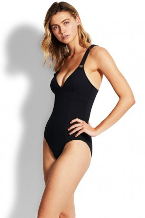 Active One Piece Seafolly Black