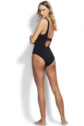 Active Tri One Piece by Seafolly Black