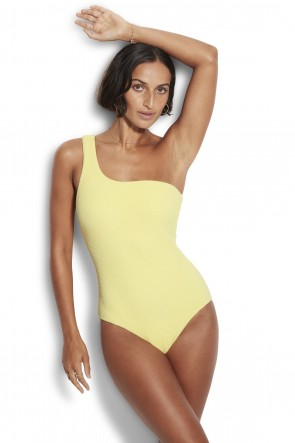 Sea Dive One Sholder Swimsuit Seafolly