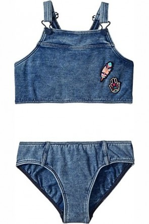Seafolly Big Girls Moonchild Denim Tankini Set