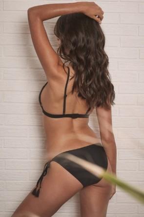 Mayla Bikini Pant  Black