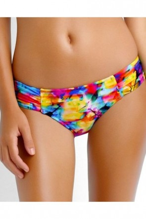 Sonic Bloom Ruched Side Bikini Pant