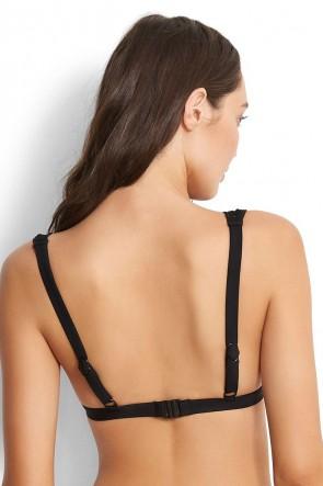 Wild at Heart Longline Tri Bikini Top