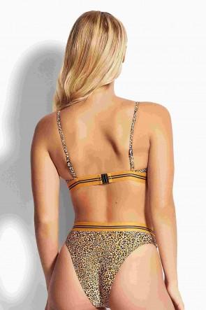 Spirit Animal Fixed Tri Bikini Top by Seafolly