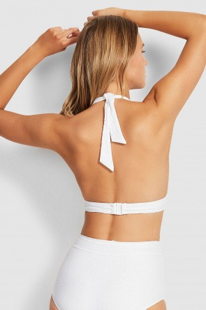 Capri Sea High Waist Bikini Set by Seafolly