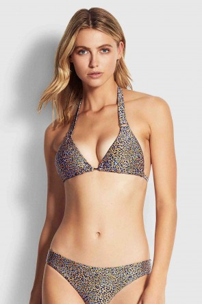 Spirit Animal Slide Tri Bikini Top by Seafolly