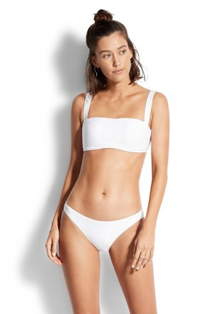 Capri Sea Bandeau Hipster Bikini Set by Seafolly