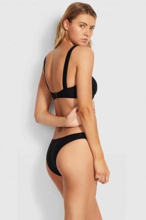 Capri Sea Bandeau V High Bikini Set by Seafolly
