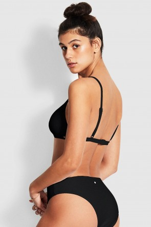 Essentials Bralette Bikini Top Black