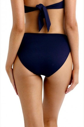 Seafolly Retro Power Bikini Pant Seafolly Steel