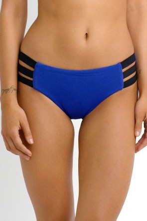 Block Party  Hipster Bikini Pant - Blueray