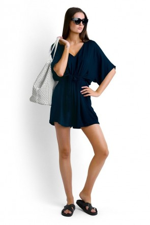 Jungle Playsuit Black Seafolly