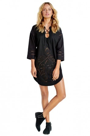 Lace Front Cutwork Tunic Seafolly