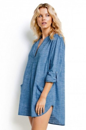 Beach Basics Boyfriend Beach Shirt