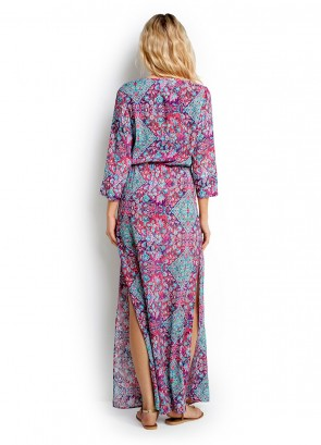 Tapestry Long Line Kaftan Seafolly
