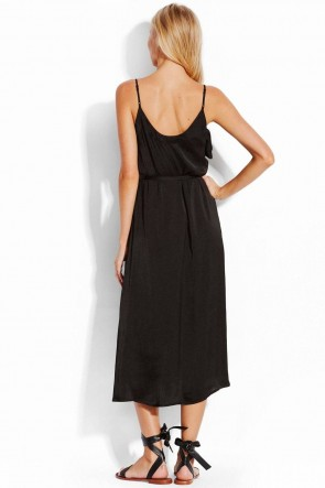 Water Garden Ruffled Midi Dress by Seafolly