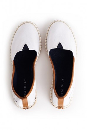 Beach Espadrille White