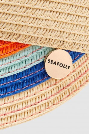 Girls Rainbow Roll Up Visor by Seafolly
