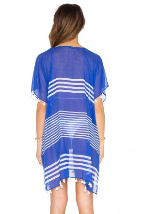Gili Island Kaftan Blue Ray Seafolly