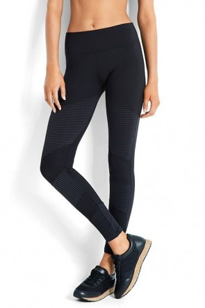 Essentials Moto Legging Black Seafolly
