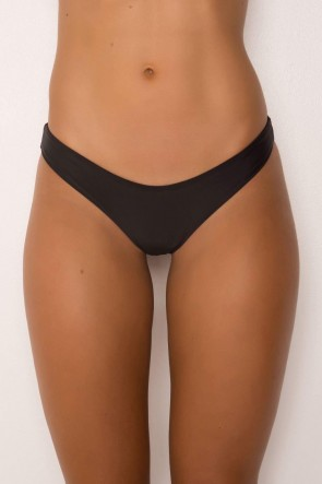 HIGH CUT BOTTOMS BLACK