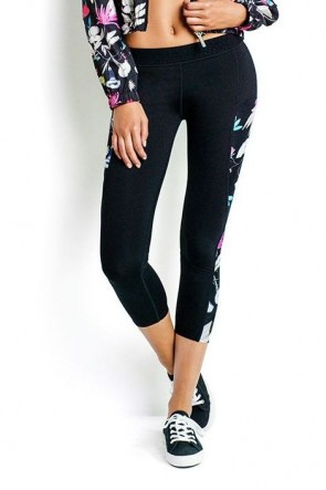 Flower Festival 7/8 Fold Over Legging Seafolly
