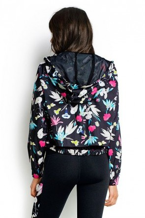 Flower Festival Wind Breaker Hoodie Seafolly