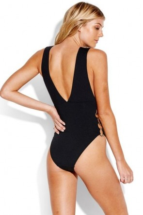 Active Ring Side Neck One Piece Seafolly