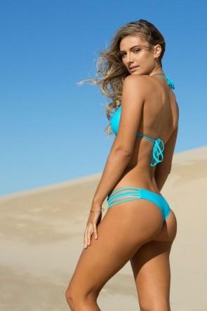Sundancer Bikini Bottom Aqua