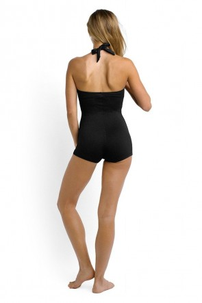 Seafolly Boyleg One Piece Maillot