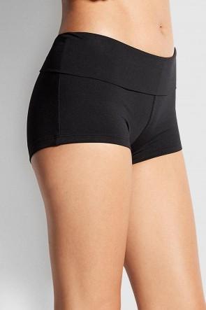Seafolly's Roll Top Boyleg Bikini Pant Back