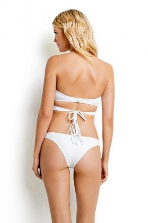 Wrap Front Bandeau White SEAFOLLY