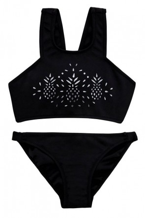 Seafolly Girls Pineapple Daze Scuba Tankini