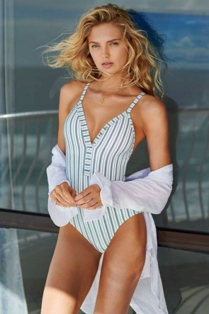 Sea Stripe One Piece Maillot Seafolly