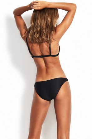Essentials Hipster Bikini Pants by Seafolly Black