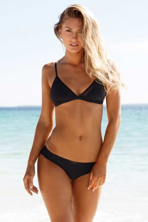 WILDE FOX BIKINI SET BLACK