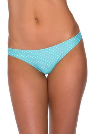 Miami Bottom Aqua/White