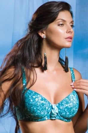 Larimar Bikini Top soft cup bra for the big sizes Cap C-J