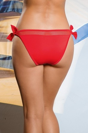 Fromia swim briefs with the twine Red