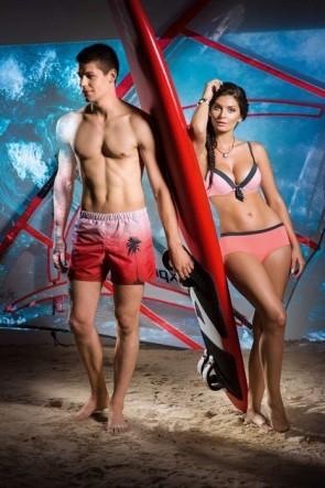 Sunset Bikini Top with removable padding