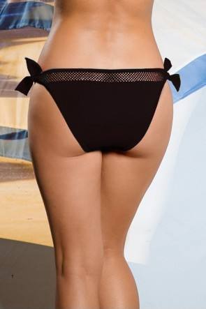 Fromia Molded Push-Up Bikini Set Black