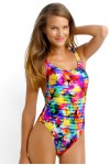 Sonic Bloom Tank One Piece Maillot